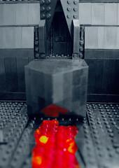 Vaders Castle (BensBuilds) Tags: lego star wars rogue one mustafar krennic ucs darth vader moc