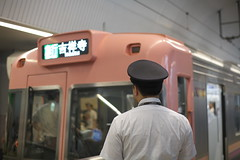 IMG_6247 (tohru_nishimura) Tags: eos5d planar5014 canon cosina carlzeiss shibuya train keio station tokyo japan