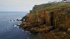Európa nyugati sziklái (Land's End, Anglia) (milankalman) Tags: cliff sea ocean landscape england cornwall waves