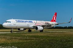 Turkish Airlines TC-JTP (U. Heinze) Tags: aircraft airlines airways airplane planespotting plane haj hannoverlangenhagenairporthaj flugzeug eddv nikon