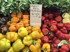 Sweet peppers from Underwood Farms (TomChatt) Tags: food farmersmarket