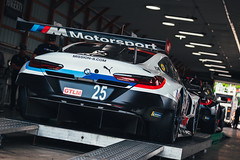 BMW M8 GTE (Garret Voight) Tags: 2018 bmw m8 gte bmwteamrll alexandersims connordephillippi gtlm racing motorsports autoracing car racecar sports weathertechsportscarchampionship uscc imsa automobile motorracing automotive roadamerica elkhartlake wisconsin vehicle pit garage paddock