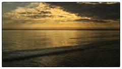 Sunset Usedom (Heinze Detlef) Tags: insel usedom meer ostsee strand sand abend sonne wolken wasser spiegelung sonnenstrahlen