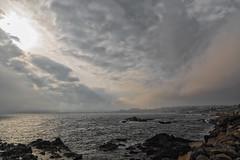 Nubes en la bahía (susocl1960) Tags: ceuta benzu costa levante mar nube