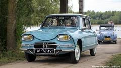 Citroën Ami 6 1963 (XBXG) Tags: al7649 citroën ami 6 1963 citroënami6 citroënami ami6 blue bleu 99 jaar 99jaarcitroën eiland van maurik 2018 buren betuwe gelderland nederland holland netherlands paysbas vintage old classic french car auto automobile voiture ancienne française vehicle outdoor