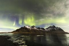 Stokksnes (Mary Bassani) Tags: stokksnes northernlights iceland islanda islandia landscape paisaje auroraboreale bynight nocturnas canonphotographer