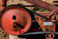rusty_equipment-1_MaxHDR_Dehaze (old_hippy1948) Tags: scythe belt flywheel