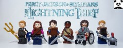 Percy Jackson & The Lightning Thief (Random_Panda) Tags: lego figs fig figures figure minifigs minifig minifigures minifigure purist purists character characters films film movie movies tv show shows percy jackson lightning thief rick olympians riordan