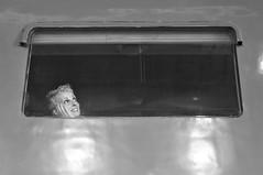 Il treno dei desideri nei miei pensieri all'incontrario va... (modestino68) Tags: bn bw treno train donna woman paoloconte
