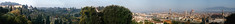 Beyond the City Wall (David Laurance) Tags: florence panoramic city piazzale michelangelo countryside green concrete firenze italy ultrawide panorama