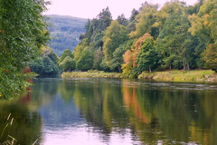 The river Tay in Dunkeld (eric robb niven) Tags: ericrobbniven scotland dundee dunkeld perthshire cycling