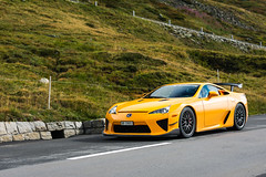LFA Nürburgring edition (Maxi Vogl) Tags: lexus lfa lexuslfa nürburgring edition yellow car supercar v10 andermatt oberalppass sound mountains