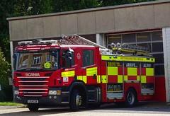 Hemel Hempstead - 9745 - LX14 CGK (999 Response) Tags: hemel hempstead 9745 lx14cgk hertfordshire fire and rescue service