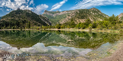 Mirror mirror ... (George Vittman) Tags: landscape reflection lake water sun mountain nikonpassion provence alpes naturephotography jav61photography jav61