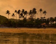 Ao Nang Beach (Andreas Gugau) Tags: aonang thailand strand landschaft meer sand sandstrand abend indischer ozean schiffe boote sonnenuntergang