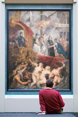Louvre (Yann OG) Tags: paris parisian parisien france french français louvre museum musée tableau peinture painting 50mm f18 art