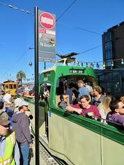 Blackpool Boat Tram No. 228 (waltarrrrr) Tags: flixbustrip september8 2018 saturday sanfrancisco muniheritageweekend muni sfmuni sf transit publictransit