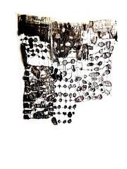connecting newspaper gestures (work in progress) (Ines Seidel) Tags: connection connecting newspaper gestures sewing dyeing paper pattern texture news hands zeitung zeitungspapier papier nähen tusche verbinden wip workinprogress