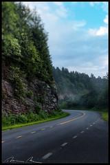 misty road-Edit.jpg (McMannis Photographic) Tags: blueridgeparkway destination travel northcarolina carolinas explore nc southeast tourism