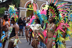 DSC_8318 (photographer695) Tags: notting hill caribbean carnival london exotic colourful costume girls dancing showgirl performers aug 27 2018 stunning ladies