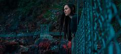 Cynosure (terrysimp) Tags: bridge portrait land landscape surreal cape town woman scene