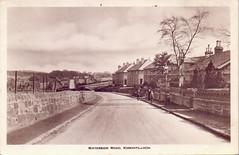Waterside Road, Kirkintilloch. (Paris-Roubaix) Tags: kirkintilloch waterside road east dunbartonshire antique postcards scotland vintage scottish