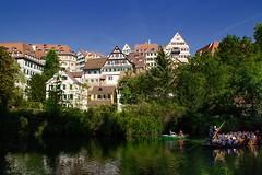 Tübingen - Neckar (tucsontec) Tags: städteerkundung city cityscape cityphoto neckar badenwürttemberg fluss flussromantik river travel trees bäume altstadt tübingen outdoor