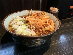 Soba topped with amixed vegetable tempura from Monju @ Asakusa (Fuyuhiko) Tags: soba topped with amixed vegetable tempura from monju asakusa 蕎麦 そば ソバ 天ぷら 天婦羅 テンプラ 浅草 東京 tokyo