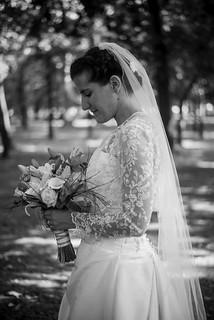 Bori on her wedding day, July 2017