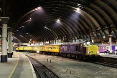 37612 1Q64 york station 17.09.2018 (Dan-Piercy) Tags: harryneedle colasrail class37 37612 37610 yorkstation plt3 1q64 burton wetmore sidings nevillehill via scarborough testtrain ecml