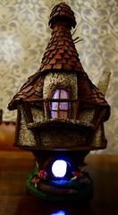 Based on a house by Creative Mom (ruthashworth1) Tags: fairy house trash papier mache