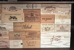 Competitive Edge (skipmoore) Tags: wine wooden boxes cases labels
