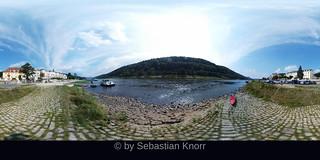 At the Elbe by Bad Schandau