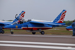 170404_039_SnF_PatrouilleDeFrance (AgentADQ) Tags: patrouille de france aerobatic display team alphajet alpha jet french air force armee lair airplane trainer plane military aviation sun n fun flyin expo airshow show lakeland linder airport florida 2017
