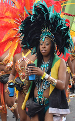 DSC_8303a (photographer695) Tags: notting hill caribbean carnival london exotic colourful costume girls dancing showgirl performers aug 27 2018 stunning ladies