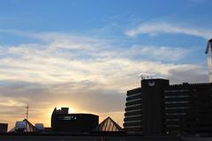 Sandton City Sunset (Rckr88) Tags: sandton johannesburg southafrica south africa city sunset sunsetsandton sun gauteng skyline sky skyscrapers skyscraper skies sunlight sunsets clouds cloud