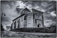 Commune de Saint Martin du Bois 3/3 (Fotomaniak 53) Tags: église noirblanc monochrome blackwhite raw eos canon 550d gironde 33 septembre 2018 fotomaniak53