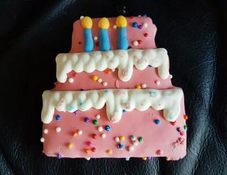 Gracie's birthday cookie