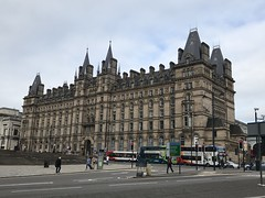 Former Lime Street Station Hotel - Liverpool - August 2018 (firehouse.ie) Tags: england merseyside liverpool buildings building limestreetstationhotel station railway stationhotel limestreet