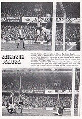 Southampton vs West Ham United - 1974 - Page 6 (The Sky Strikers) Tags: southampton west ham united football league division one the dell matchday magazine 7p