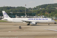 SX-ABQ - 1999 build Airbus A321-231, taxiing for departure at Zurich (egcc) Tags: 1060 a321 a321231 airbus b6285 eifbf hl7590 kloten lszh lzpmz lightroom oly olympus olympusairways sxabq zrh zurich