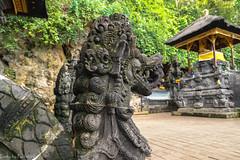 The temple of Pura Goa Lawah / Храм Пура Гоа Лавах (Vladimir Zhdanov) Tags: travel indonesia bali sculpture ancient tropical tree temple puragoalavah