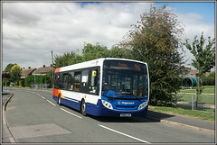 36213, Long Lawford (Jason 87030) Tags: 36213 kx60lhv longlawford townsendlane village warks warwickshire 96 86 route service august 2018 playpark shelter drugbs enviro e200 chips chippytuesday scene bus wheels coventry northampton stagecoach midlands timetable change