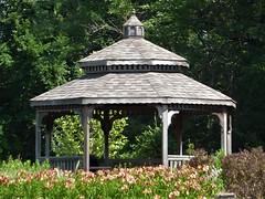 Wheaton, IL, Cantigny Park, Gazebo near Pond (Mary Warren 11.2+ Million Views) Tags: wheatonil cantignypark nature flora plants garden park wood gazebo trees green leaves foliage coth5