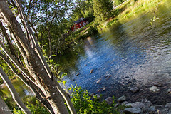 Hemsedal - Norway (Melvin Debono) Tags: hemsedal is municipality its own gol become was separated from bergen 1987 buskerud county norway it part traditional region hallingdal lies norwegian national road 52 rv located 220 km 13670 mi northwest oslo 273 16963 melvin debono canon 7d photography travel tree small hemsil river fylke sky wood grass forest water