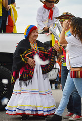 Abuela makes an appearance (radargeek) Tags: lasfiestasdelasamericas september 2017 parade festival colombia dress hispanic capitolhill okc oklahomacity oklahoma