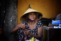 Portrait Of A Hoi An Woman (El-Branden Brazil) Tags: hoian vietnamese vietnam southeastasia culture