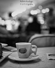 But first, coffee (Mister Blur) Tags: little italy caffe sacco newyork city nyc coffee bokeh café espresso monochrome blackandwhite bw blancoynegro shallow depthoffield dof profundidaddecampo
