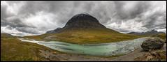 Niják (Jonas Thomén) Tags: niják mountain fell fjäll river å jokk mossa moss rock sten grus gravel panorama clouds moln stora sjöfallet nationalpark