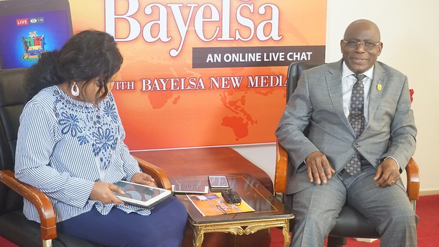 HSDickson - Chairman Civil Service Commission At the ongoing Knowing Bayelsa Program. 16th August 2018